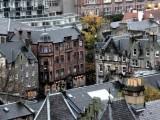 Yağmur altında Edinburgh…