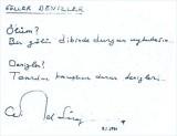 Gönderilmeyen mektuplar